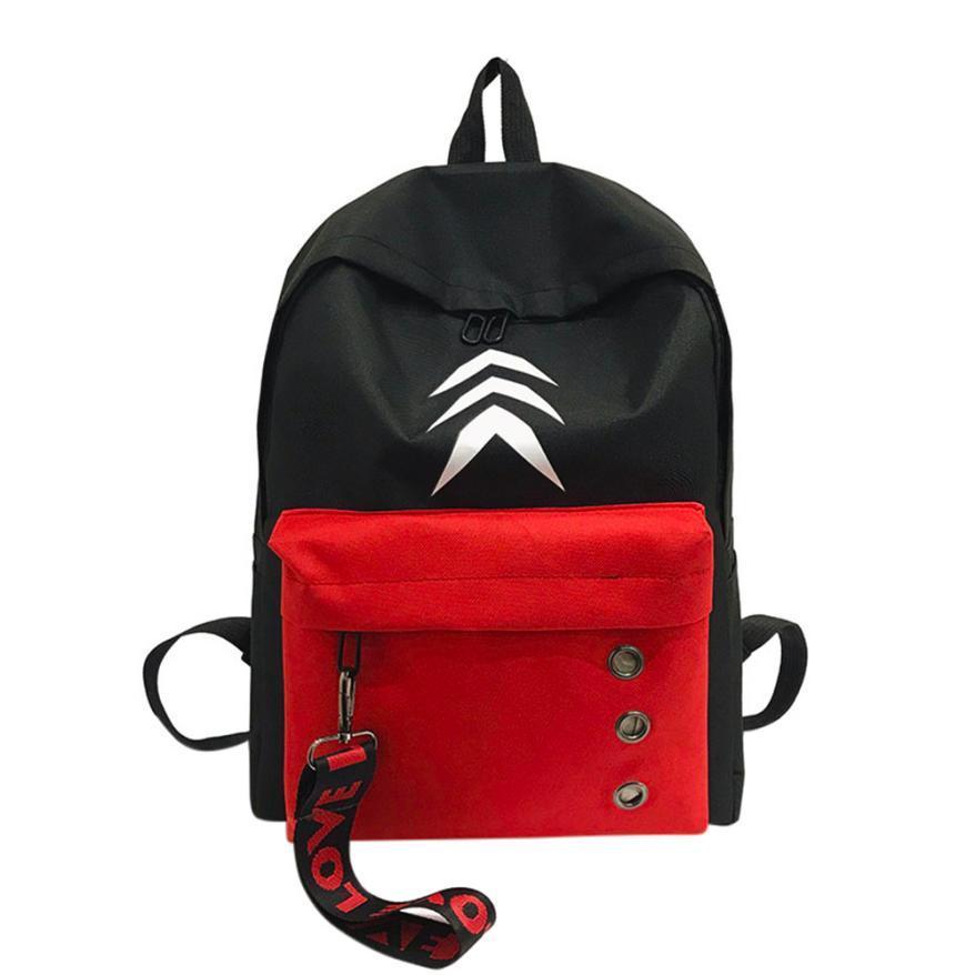 f67fad1cc 2018 News Women Backpack Nylon To School Vintage Shoulder Bag Rucksack PU  Travel Bags School Bag Women Back Pack Bags #g6 Camera Backpack Back Packs  From ...