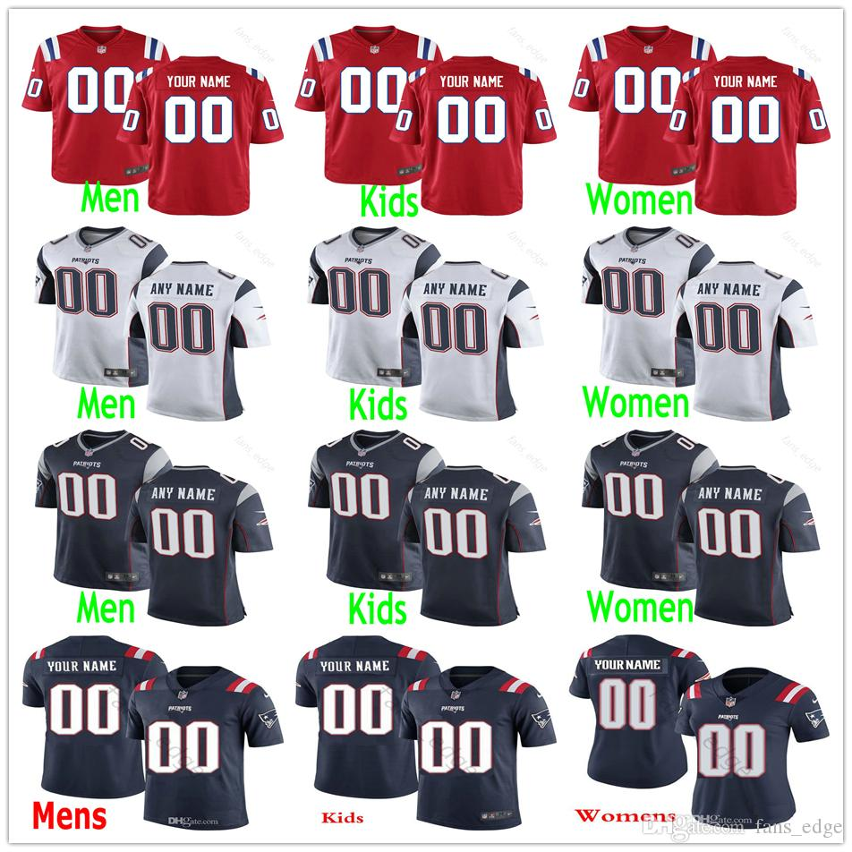 info for 0629e 5fc58 Custom 2019 New 34 Rex Burkhead 26 Sony Michel 54 Dont a Hightower 28 James  White 15 Chris Hogan Men Women Youth Patriots Stitched Jerseys