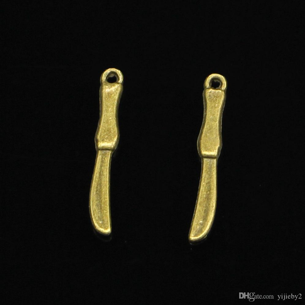 317pcs Charms operation knife Antique Bronze Plated Pendants Fit Jewelry Making Findings Accessories 25mm