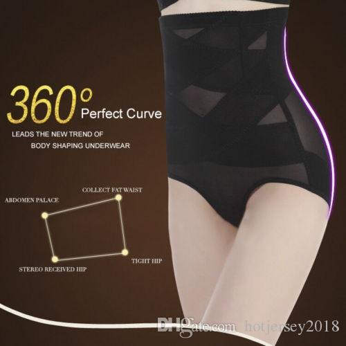 da0639744301c Hirigin Women Antibacterial Yoga Underwear Body Shaper Control Slim Tummy  Corset High Waist Shapewear Panty Underwear Plus Size  242368 UK 2019 From  ...