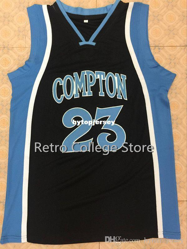 8e8630cedc6 2019 #23 DEMAR DEROZAN COMPTON High School Basketball Jersey All Size  Embroidery Stitched Customize Any Name And Name XS 6XL Vest Jerseys NCAA  From ...