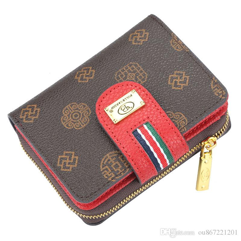 7f3c5693d9 Classic Old Flower Wallet Womens Buckle Multi Function Coin Purse Fashion  Designer 2019 New Large Capacity Clutch Bag Wholesale Brown Leather Wallet  Buxton ...