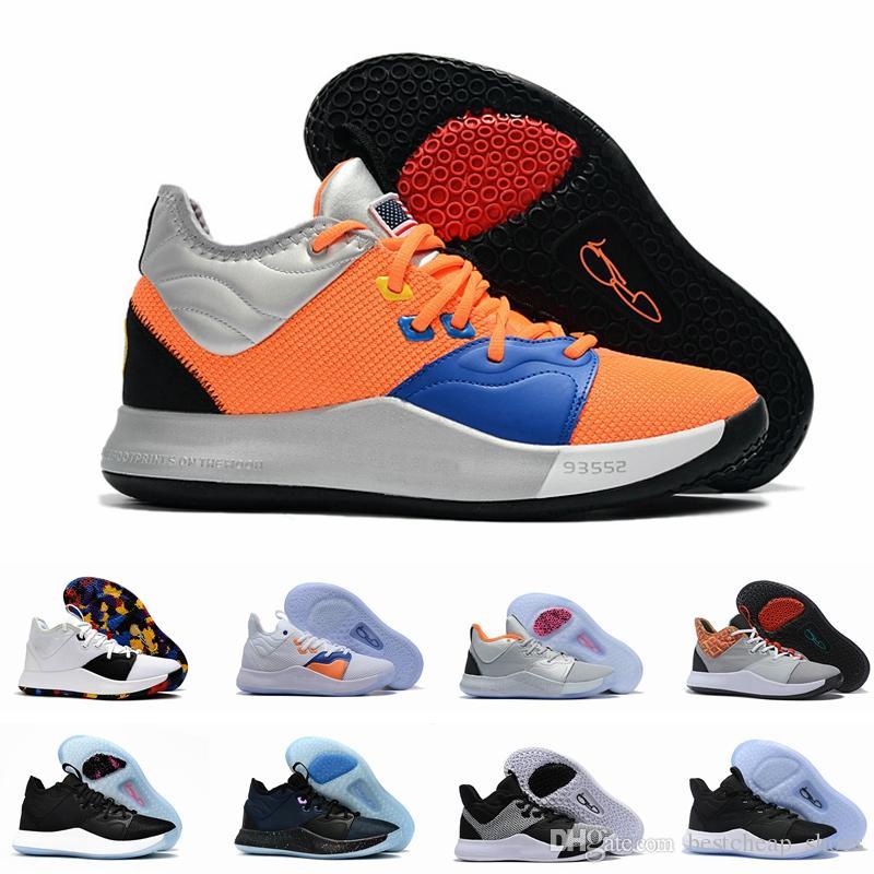 3b35866c1 NASA Paul George PG 3 3S PALMDALE III P.GEORGE Zapatillas De Baloncesto  Para Hombre Barato PG3 Starry Orange Red Sports Designer Sneakers Tamaño 12  Por ...
