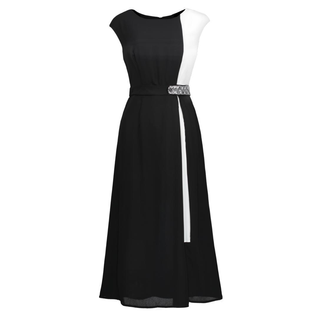 30985cb8c34 Compre Vestido Elegante De Manga Corta