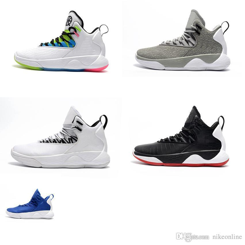 sale retailer 25cd8 47891 2019 Cheap New Mens Jumpman Super Fly Mvp Basketball Shoes Quai 54 White  Black Cool Grey Red Snakeskin Air Flights Sneakers Boots Tennis For Sale  From ...