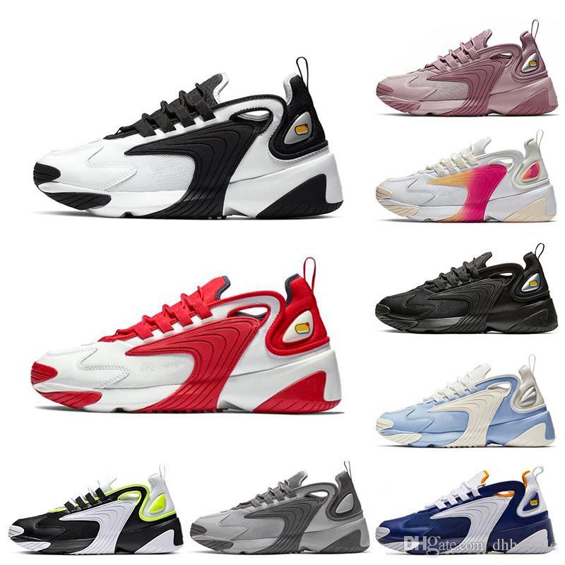 Encuentra Baratas Mujer Zapatillas Nike Zoom 2K Blancos