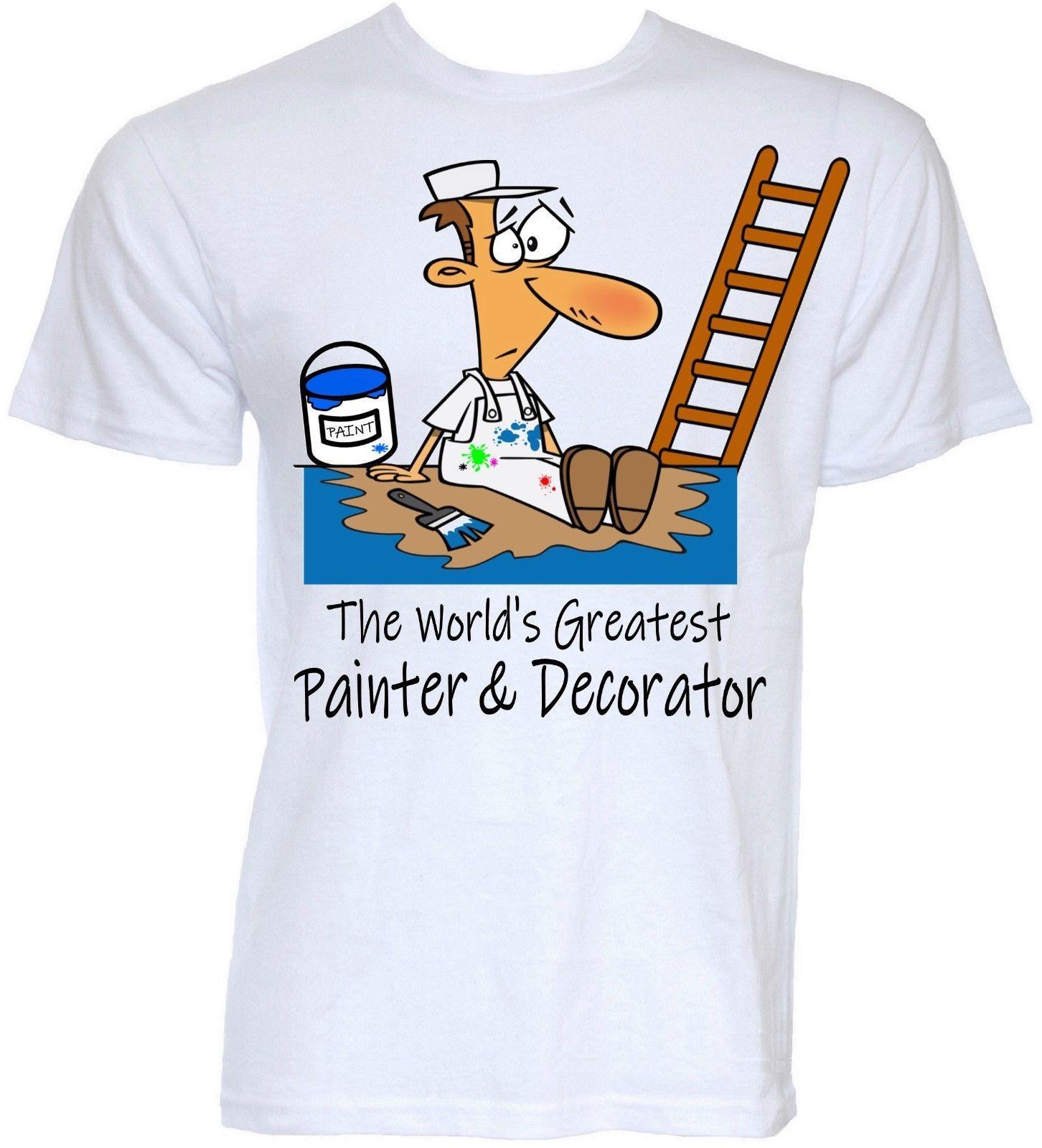 12ef88f91 Painter And Decorator T Shirts Mens Funny Cool Novelty Joke Handyman Gifts  Ideas Custom Printed Tshirt, Hip Hop Funny Tee, Mens Tee Shirts Ts Shirt  Buy ...