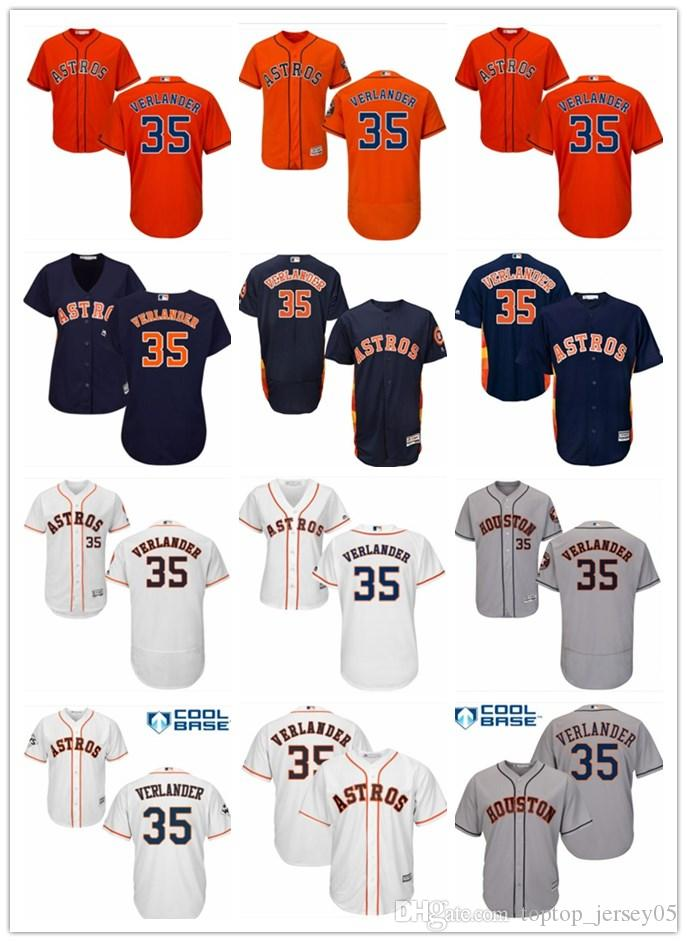 factory authentic 09342 85a11 2018 top Houston Astros Jerseys #35 Justin Verlander Jerseys  men#WOMEN#YOUTH#Men s Baseball Jersey Majestic Stitched Professional  sportswear