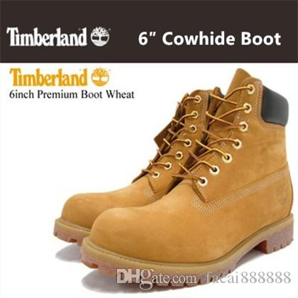 5d65234451be Timberland Men Women Waterproof Outdoor Boots Brand Couples Genuine Leather  Warm Snow Boots Casual Martin Boots Hiking Sports Shoes 36 46 Shoes For  Sale ...