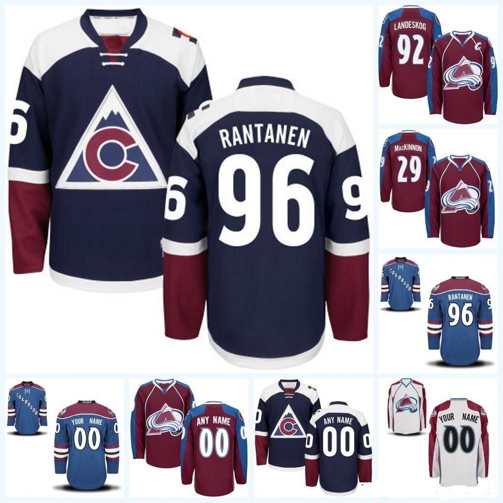 the best attitude ec6de c3a73 Customized Colorado Avalanche hockey jerseys specially made personalized  ANY name number custom BURGUNDY white blue CCM Ice Hockey Uniform