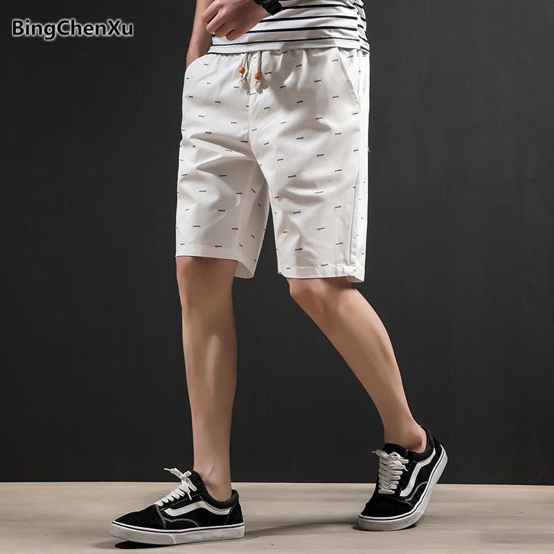 Bingchenxu Marque Shorts Hommes 2019 Vente