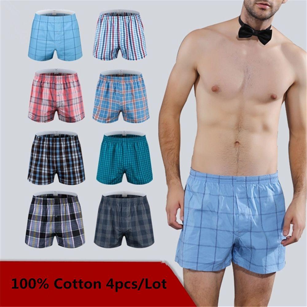 82cc1700fa3 2019 Mens Underwear Boxers Loose Shorts Men S Panties Cotton The ...