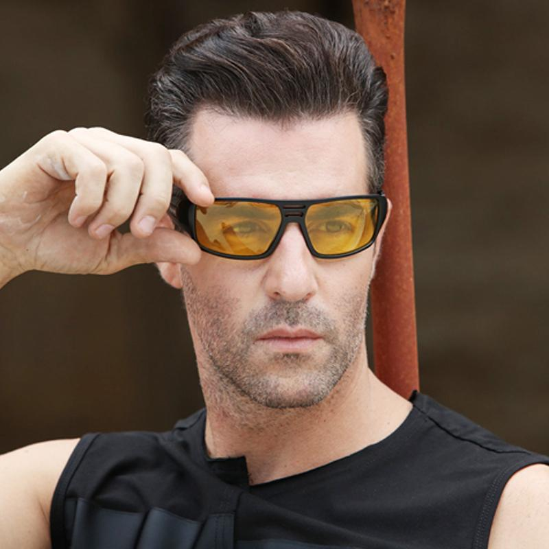 2019 polarized night vision sunglasses fashion men safe driving anti glare  sun glasses women vintage goggles uv400 gafes de sol cheap sunglasses mens