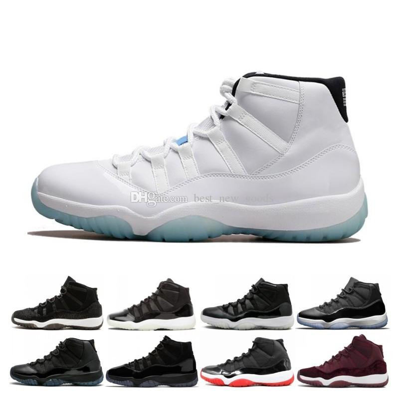 Real Concord 11s: 2019 Real 11 11s Concord Cap And Gown Men Women Basketball