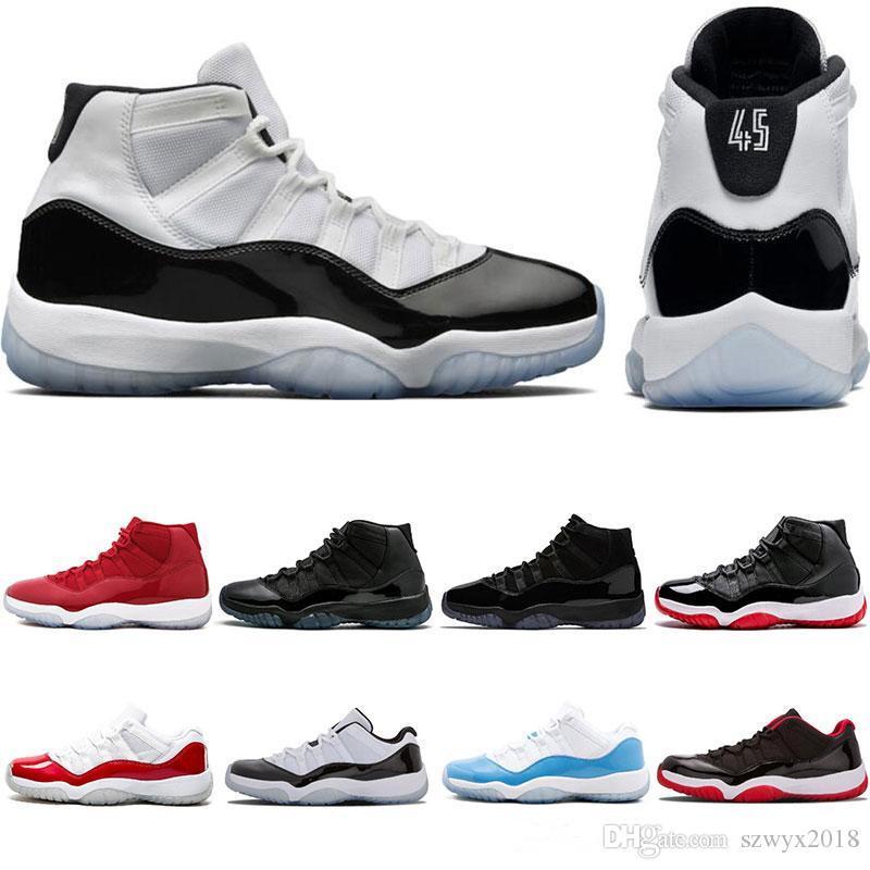 561b3da0e6a2 11 11s Men Basketball Shoes 2019 New Concord Platinum Tint Designer ...