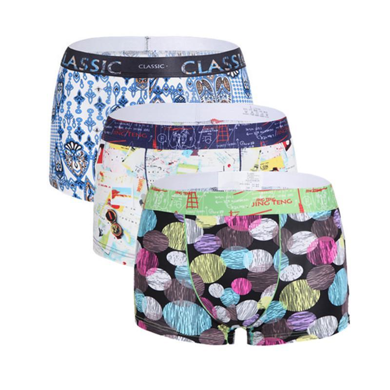 dd35e999efd 2019 Brand Men Underwear Boxer Sexy Ice Silk Cuecas Boxers Mens Boxer Shorts  Gay Underwear Man Male Boy Underpants Slip From Junxcj