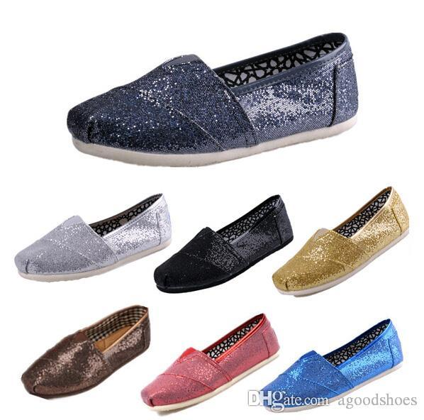 2019 Women and Men Canvas Casual Shoes canvas Flats loafers casual single shoes solid flat sneakers for women tom flat shoes