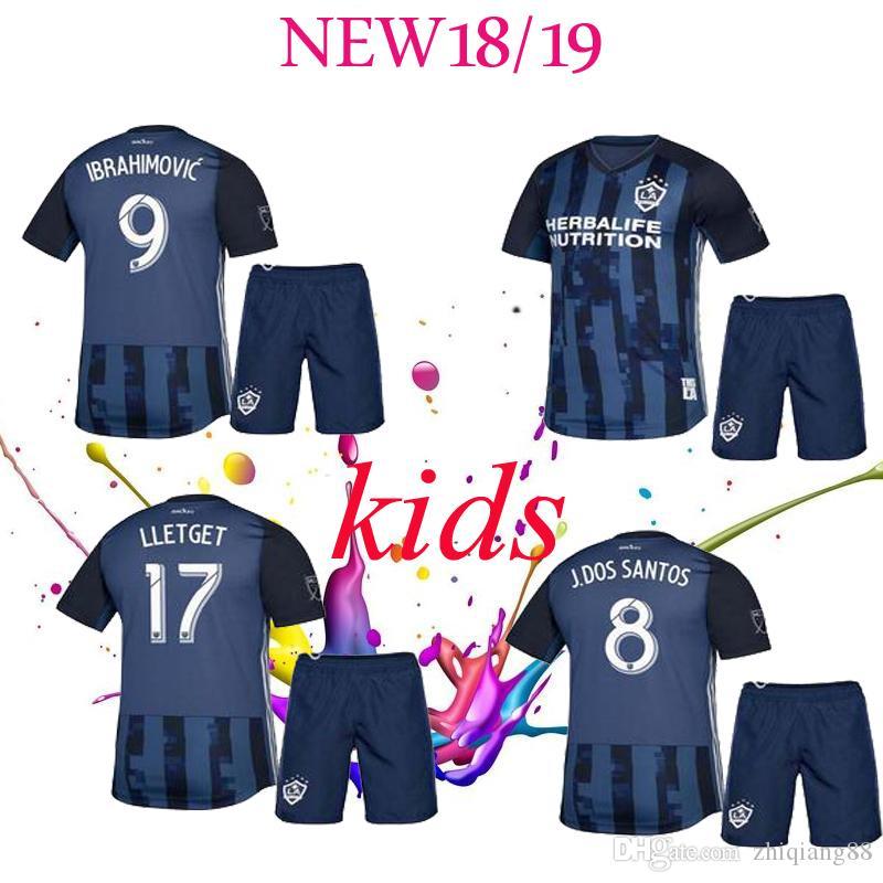 buy online 32f14 716e6 new 2019 MLS LA Galaxy Soccer KIDS Jersey 19 20 Los Angeles Galaxy  IBRAHIMOVIC GIOVANI DOS SANTOS KAMARA KIDS Football Jerseys Shirt