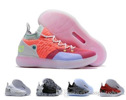 eb067531c5 Nuevo 2018 Zapatos De Diseño Zoom KD 11 Hombres Zapatillas De Baloncesto  KDs XI Kevin Durant Deportes Al Aire Libre Fmvp Botas De Combate Tamaño Us  7 12 Por ...
