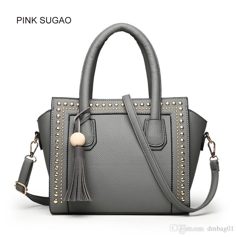 Pink Sugao Designer Women Handbag Luxury New Fashion Leather ... 8d1741e43b