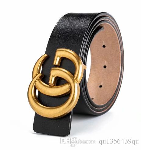 listing Tops Italy brand Trademark design Fashion solid Big buckle Genuine leather belt brand strap belts for Mens Womens Jeans waistband