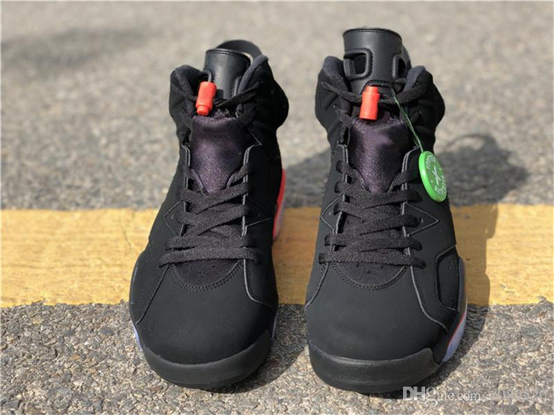 pretty nice c13be bc9ac 2019 Newest Release Bred Authentic OG 6 High Black Infrared 6S 3M  Basketball Shoes Sports Sneakers For Men Women With Box 384664-060