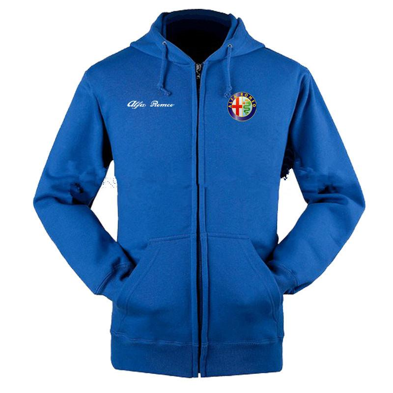 2019 Alfa Romeo Sweatshirts Coat Custom Alfa Romeo 4s Shop Hoodie