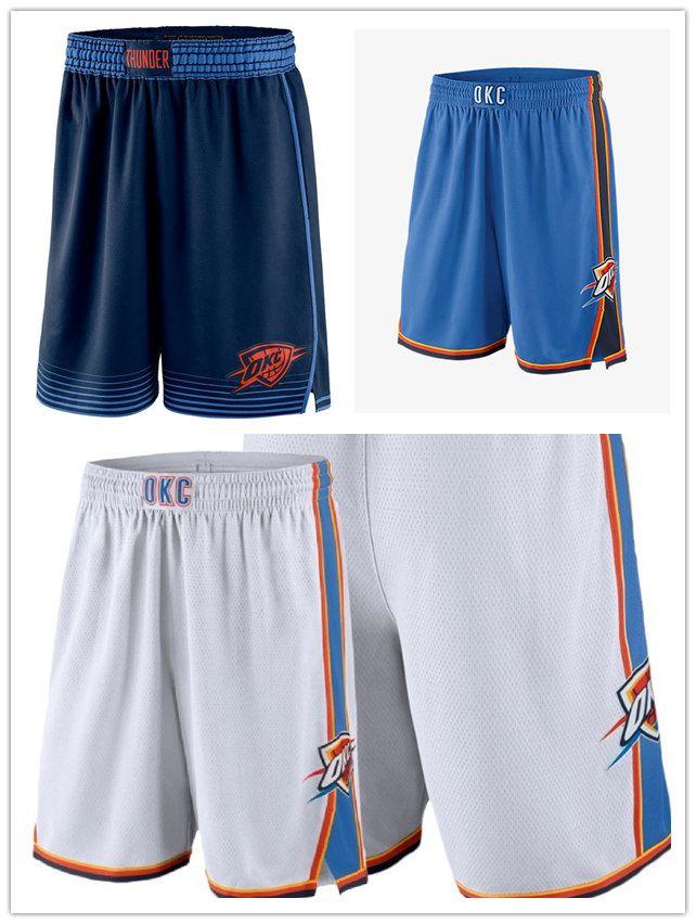 save off 0879d bdb00 Men's Oklahoma City OKC Thunder jersey 2018/19 Statement Edition Swingman  Basketball Shorts