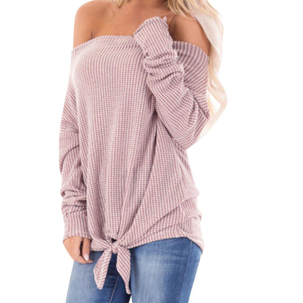 79b1bebe47 Compre Top De Invierno Para Mujer Dobladillo Con Mangas Largas Gruesa  Camiseta Cálida Blusa De Manga Larga Para Mujer Tops Ropa De Mujer Camisas  De Otoño A ...
