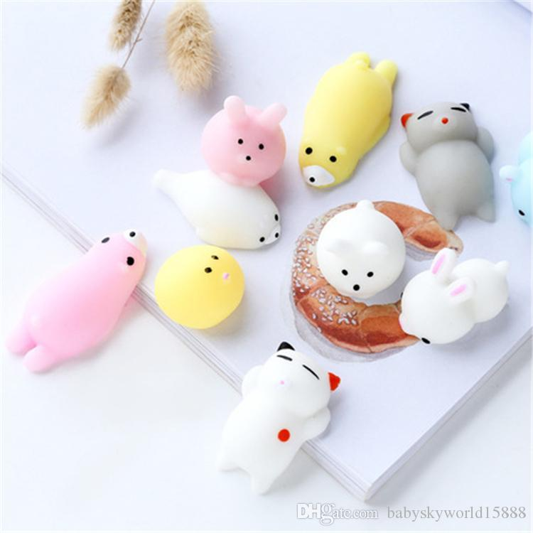 Fidget Animal extrusion vent toys Squishy rebound squishy Funny Gadget Vent Decompression toy Mobile Pendant