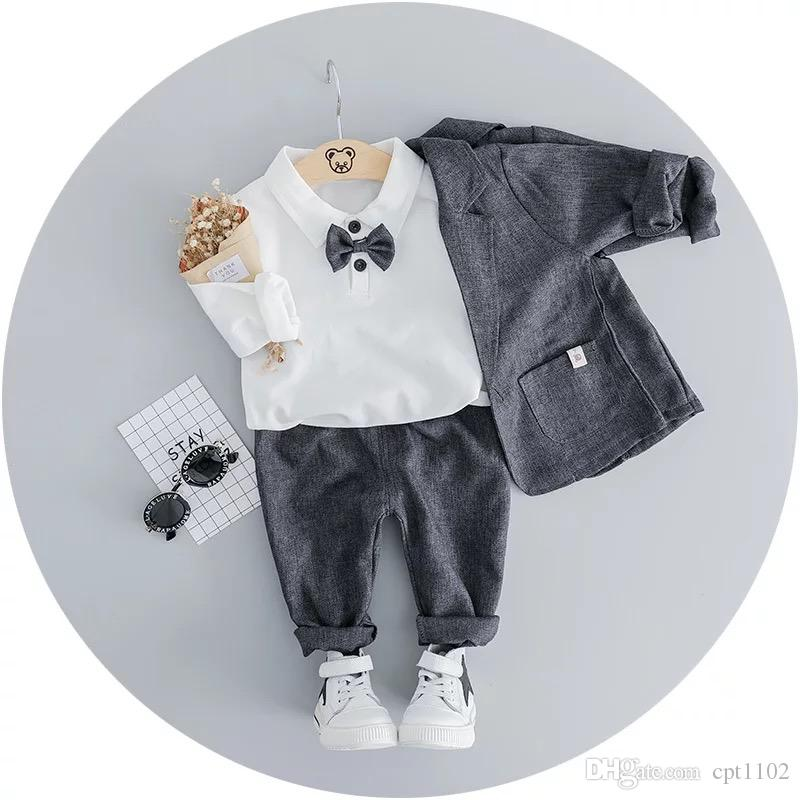 0232fb6320d4 2019 Little Boy Single Breasted Spring / Autumn Suits For Weddings Costume  Boys Blazer Kids Suits From Cpt1102, $24.33 | DHgate.Com