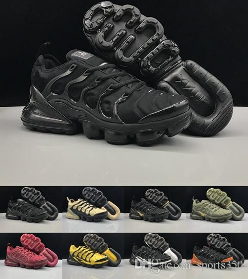 2019 NEW Airs 270 TN PLUS Mens Running Shoes Off Black White Chaussures TN  Requin Designer Shoes Run Maxes Sports Sneakers US 40-45 Online with   94.86 Pair ... 68978fb02