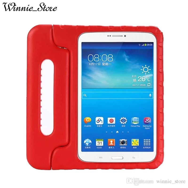 buy online 8b502 f6ada EVA Foam Handheld Kids Safe Tablet Case For Samsung Galaxy Tab E T560 T561  9.6 Shock Proof Non-toxic Cases Cover DHL free