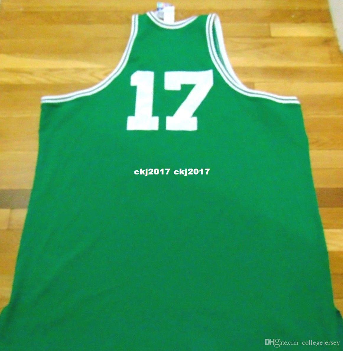 huge selection of 4f111 f8c5d John Havlicek #17 AD high quality Retired Player Top Jersey Mens Vest Size  XS-6XL Stitched basketball Jerseys Ncaa