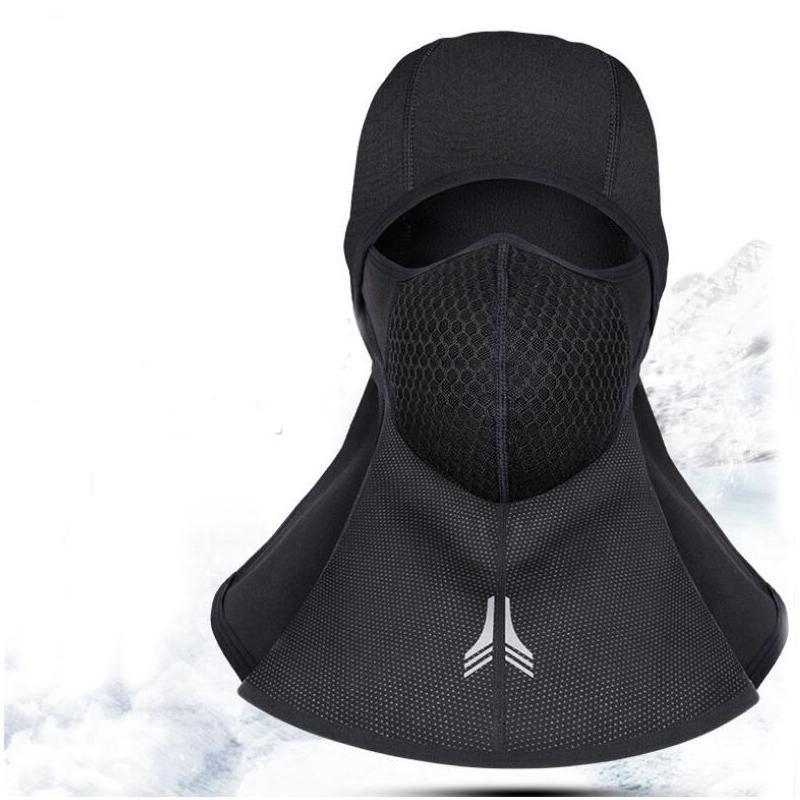 2019 Winter Bicycle Face Windproof Warm Mask Cap Ski Bike Thermal Fleece  Snowboard Shield Hat Cold Headwear Cycling Face Mask From Dragonfruit 0b7c60a8bab9