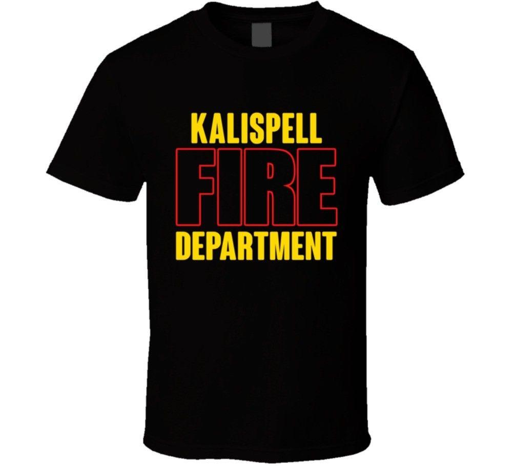 Kalispell Fire Department Personalized City T Shirtfunny Unisex