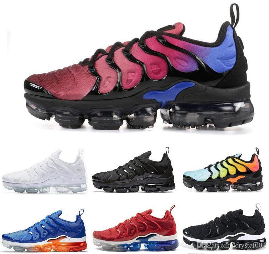 31eda021f7a 2019 Designer Tn Vapormax Plus Running Shoes Men Sneaker Triple ...