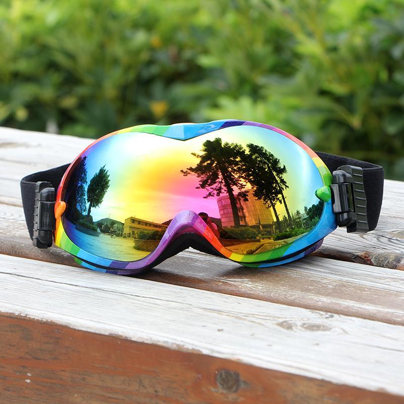097bc8717b3 UV400 Anti-fog Ski Goggles Double Layers Ski Glasses Unisex Snow ...