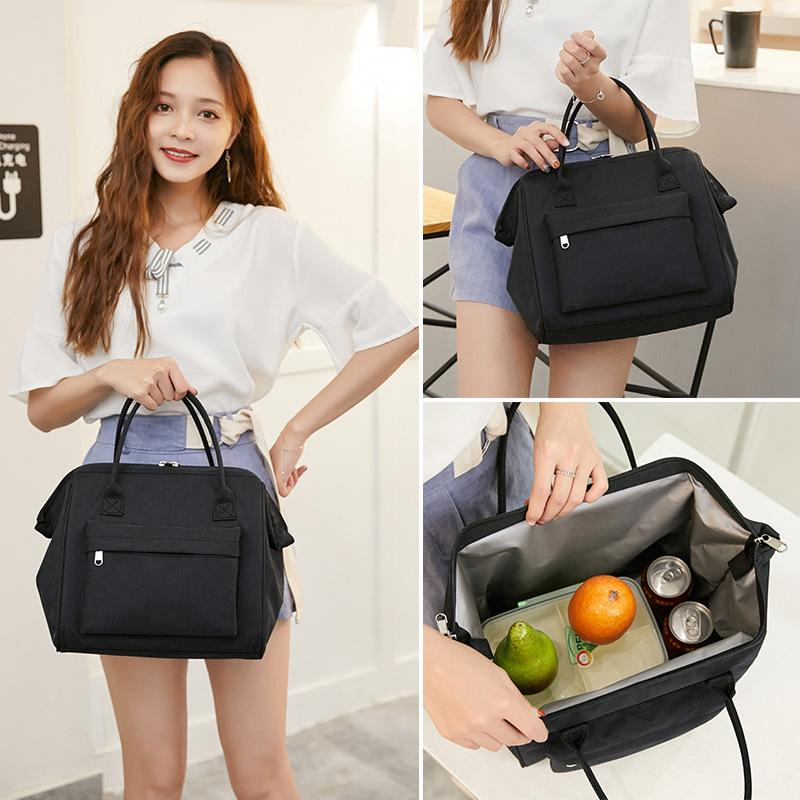New Waterproof Insulated Lunch Bags Oxford Travel Necessary Picnic Storage Bag Thermal Dinner Box Case Accessories