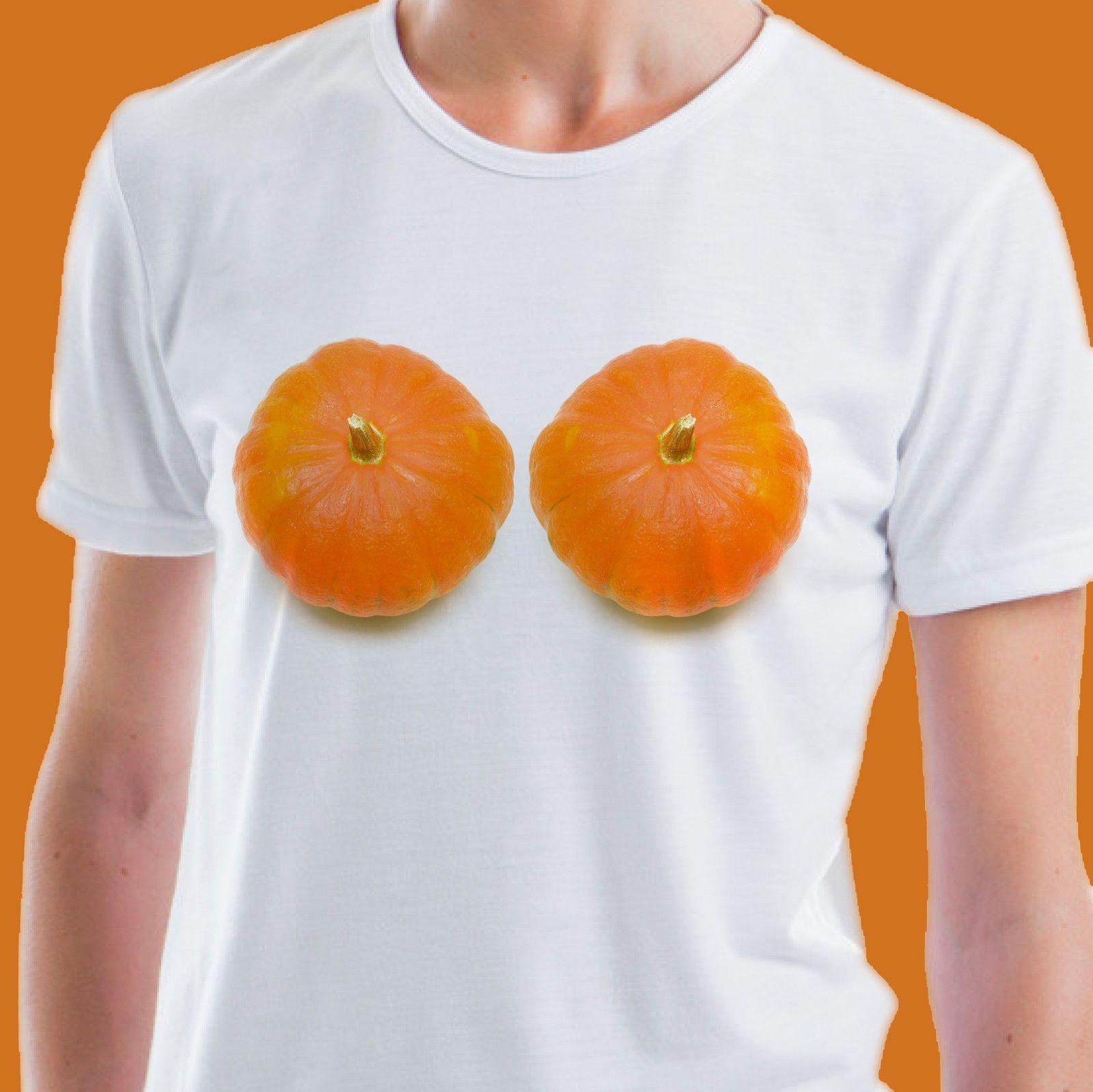 6335452e1 Halloween Pumpkin Boobs T Shirt Mens Ladies Gift Rude Joke Funny Costume  Funny Unisex Casual Shirts For Men Shirt Design From Pickapair, $12.96|  DHgate.Com