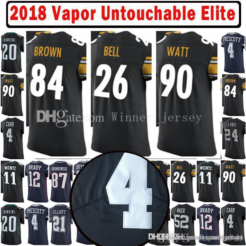 d0385bf2e 2017-18 26 Le Veon Bell 84 Antonio Brown Vapor Untouchable Elite ...