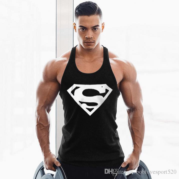 Compre 2019 Ropa De Marca Para Animales Golds Stringer Camiseta Sin Mangas  Chaleco De Gimnasia Para Hombres Marca Singlet Tops Bodybuilding Y Gimnasio  ... e2b5ca70aac