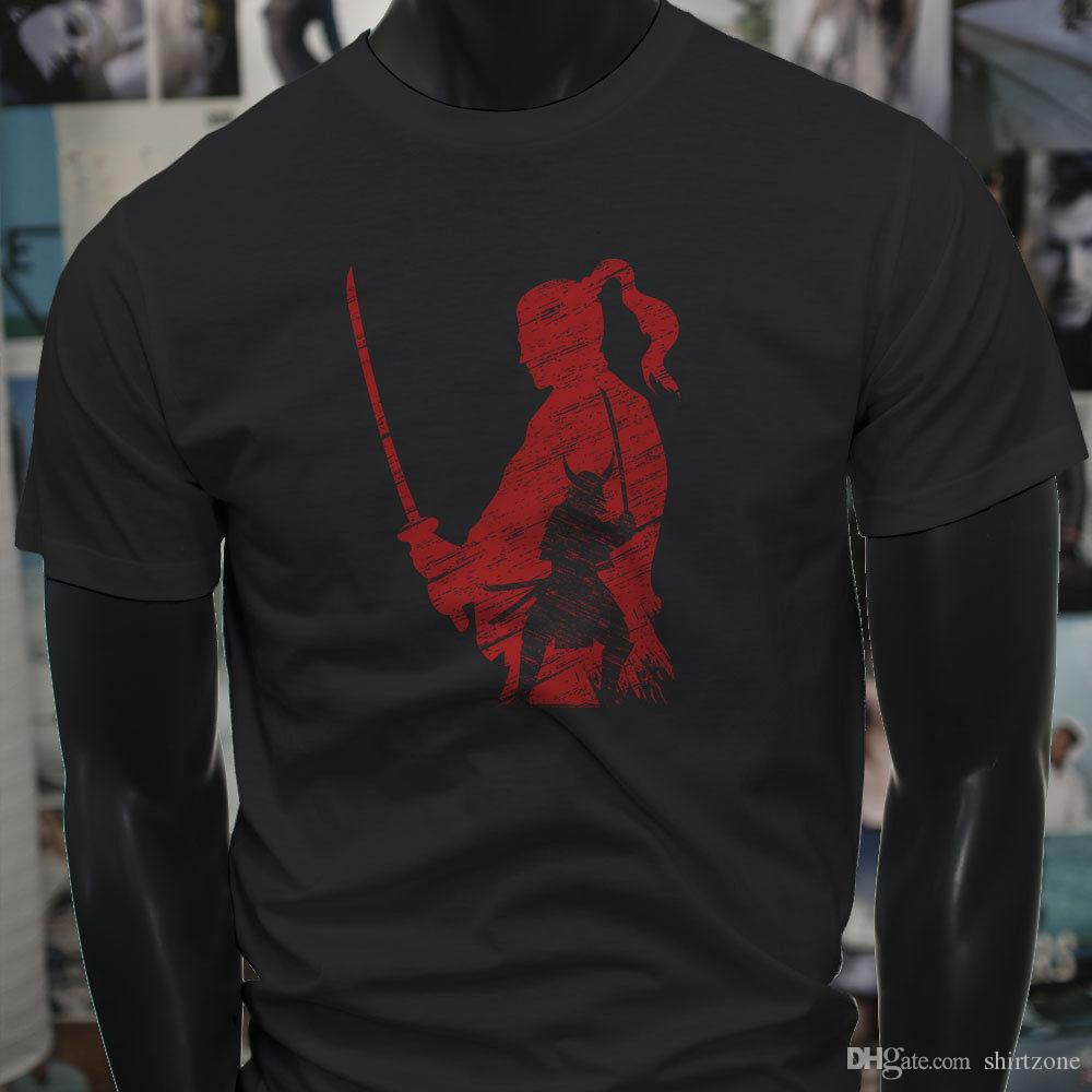 hot sale online e1913 cf7fe Samurai Honor Returns X Red Warrior Master Sword Mens Black T-Shirt T Shirt  Men Jersey Short Sleeve Cotton Custom Plus Size Family Camiseta