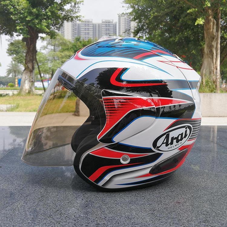 Top hot ARAI 3/4 helmet motorcycle helmet half open face casque motocross SIZE: S M L XL XXL,Capacete