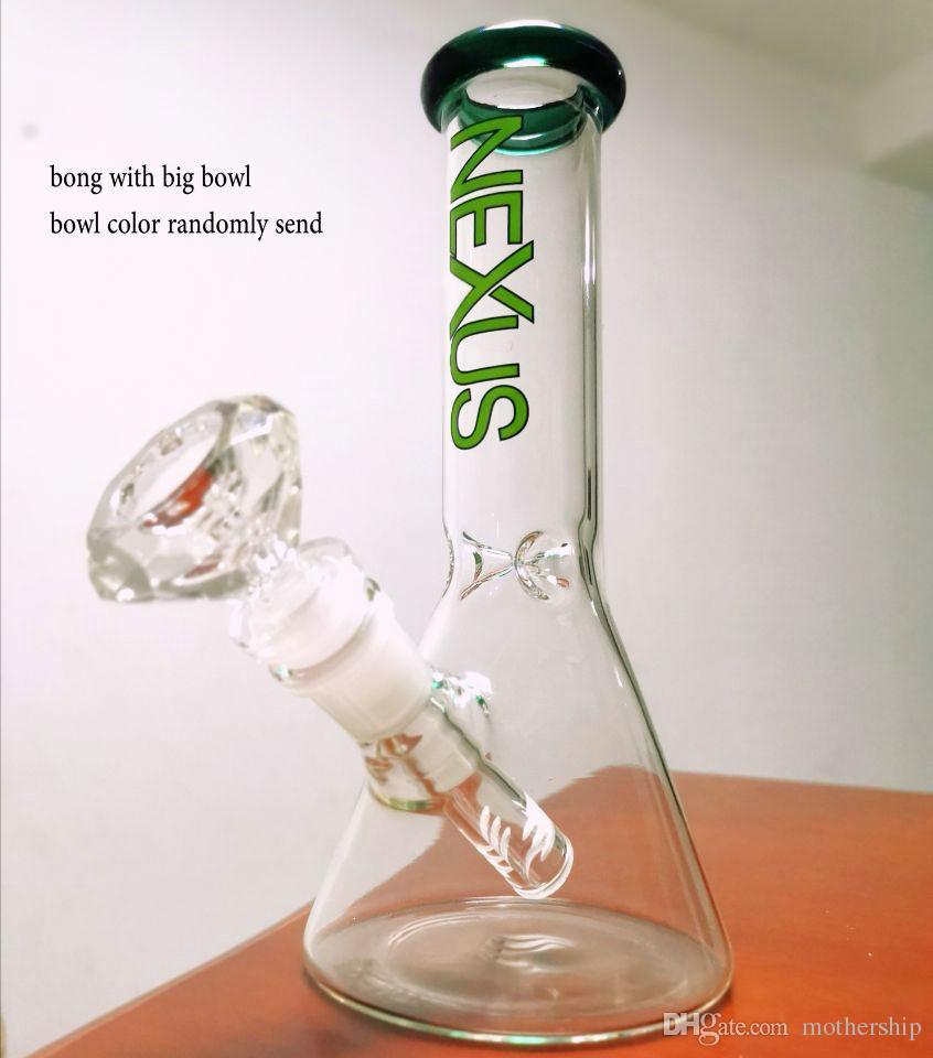 Hotstyle Limited Edition Becherglas Bong Mini Glas Ölbrenner berauschend Glas Wasserpfeife Wasserpfeife Eisbong Rauchen mit Quarz Banger oder Schüssel