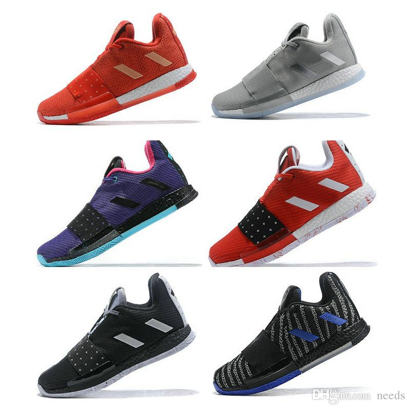 7ca0b8b41ca 2019 James Harden Vol.3 Mens Basketball Shoes Mission 13 Cosmos Voyager  Drew League Red Oreo High Quality Trainer Sport Sneaker Size 40 46 Carmelo  Anthony ...