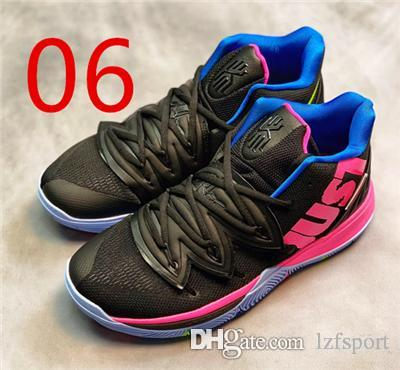 Cheap 2019 Hot Sale Kyrie 5 V Black Magic Multi-Color Confetti Irving 5  Sport Sneakers Charms Irving Basketball Shoes Size Us7-12 Lzfsport e6be045e45