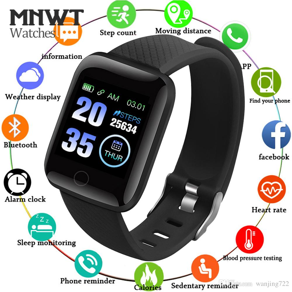 Watches Smart Watch Women Men Heart Rate Blood Pressure Monitor Sport Fitness Tracker Smart Wristband Electronics Watch For Android Ios