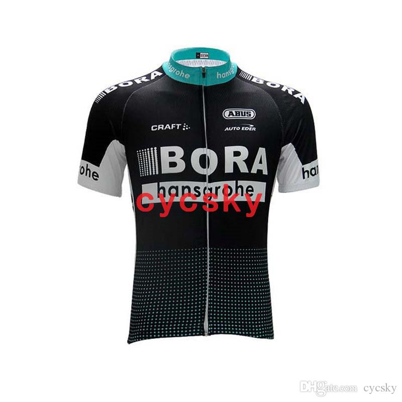 BORA 2019 Pro Cycling Jersey uniform Summer MTB Bike Clothes Ropa Ciclista Maillot Ciclismo Quick-dry Mens Cycling Clothing