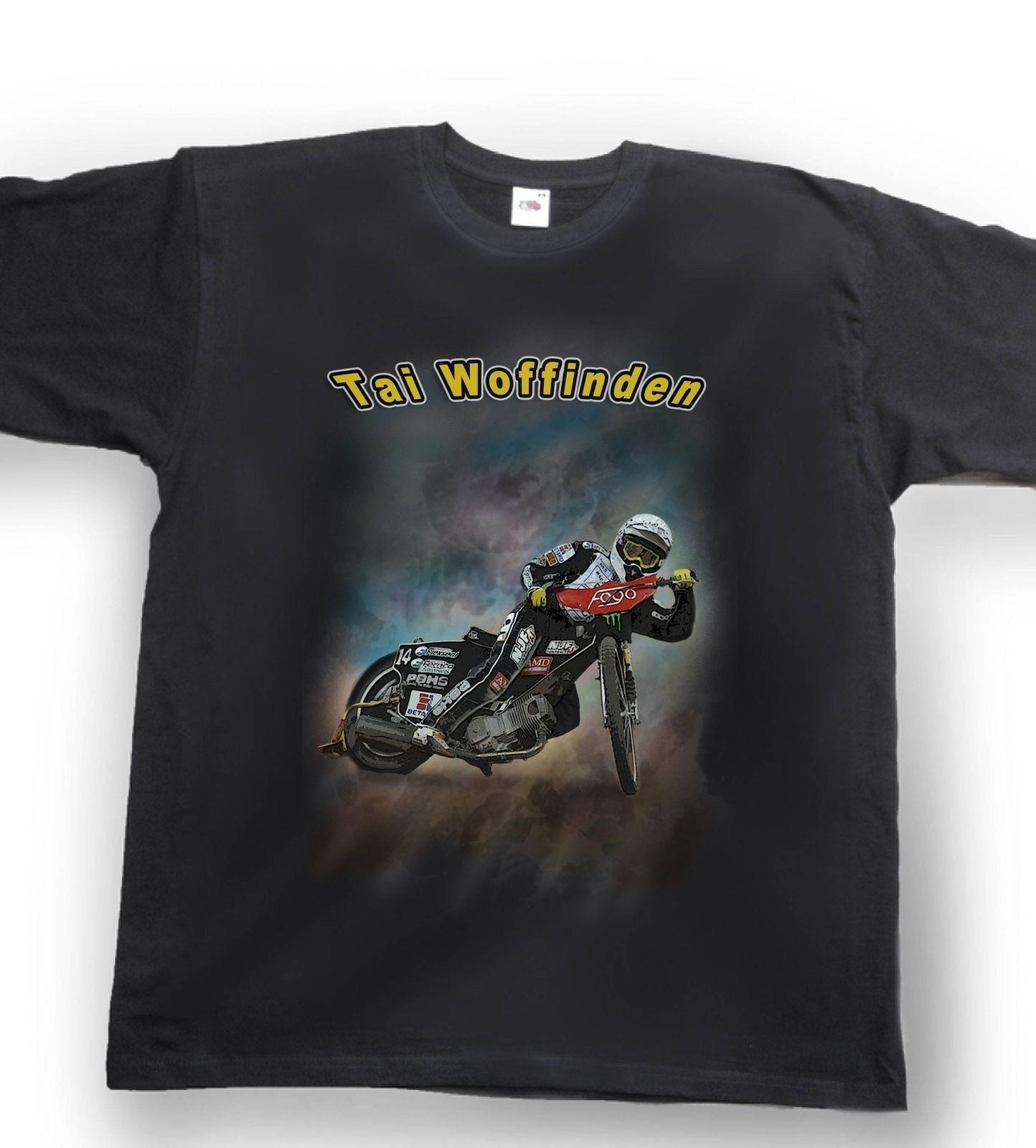4980dcbe Airbrushed Speedway T Shirt Speedway Rider Tai Woffinden Sizes Small To  XXXLFunny Unisex Casual Tshirt Top Cool Shirt Designs T Shirt Quotes From  ...